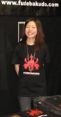 Nanae-san in T-shirt